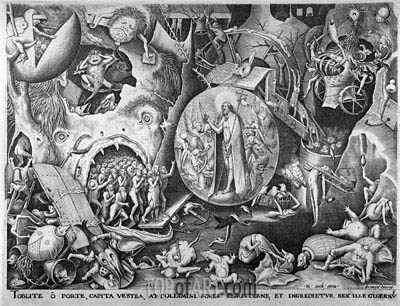 Christ in Hell, c.1561 | Bruegel the Elder | Painting Reproduction