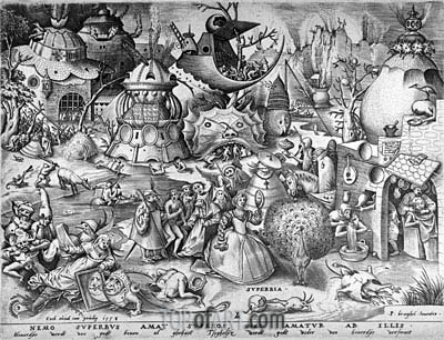 Pride, from The Seven Deadly Sins, 1558 | Bruegel the Elder | Painting Reproduction