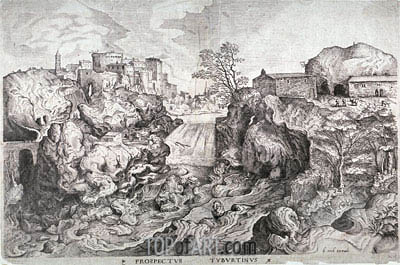 Prospectus Tyburtinus,  | Bruegel the Elder | Painting Reproduction