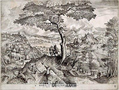 Bruegel the Elder | Milites Requiescentes,