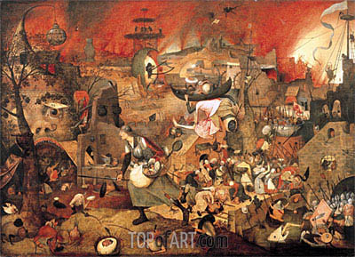 Dulle Griet (Mad Meg), 1564 | Bruegel the Elder| Painting Reproduction