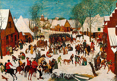 Massacre of the Innocents, c.1565/67 | Bruegel the Elder| Painting Reproduction