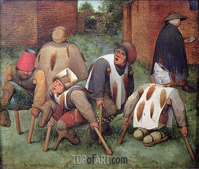 Bruegel the Elder | The Beggars, 1568