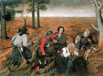 The Assault, 1567 | Bruegel the Elder | Gemälde Reproduktion