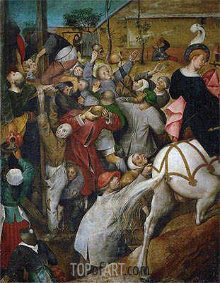 Saint Martin's Day, undated | Bruegel the Elder | Painting Reproduction