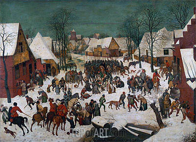 Massacre of the Innocents, 1565 | Bruegel the Elder| Painting Reproduction