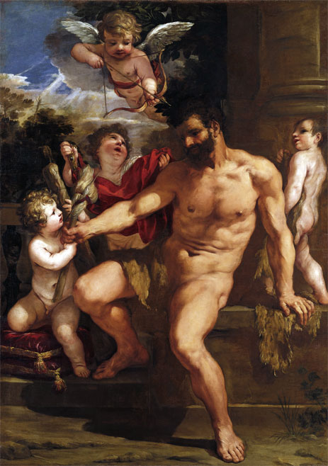 The Punishment of Hercules, 1635 | Pietro da Cortona | Painting Reproduction