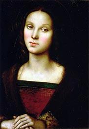 St. Mary Magdalene, Undated von Perugino | Gemälde-Reproduktion
