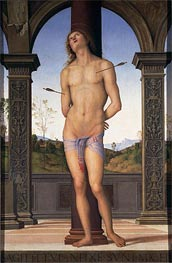 St. Sebastian | Perugino | outdated