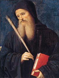 St. Benedict | Perugino | outdated