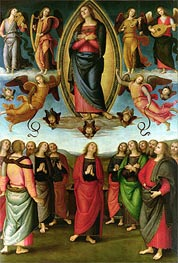 Assumption of the Virgin | Perugino | Painting Reproduction