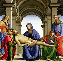 Pieta | Perugino | Painting Reproduction