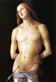 Saint Sebastian | Perugino | veraltet