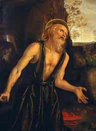 Saint Jerome in Penitence | Perugino | Gemälde Reproduktion