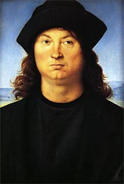Portrait of a Man | Perugino | Gemälde Reproduktion