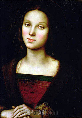 St. Mary Magdalene,  | Perugino | Gemälde Reproduktion