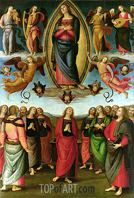 Assumption of the Virgin, 1506 | Perugino | Painting Reproduction