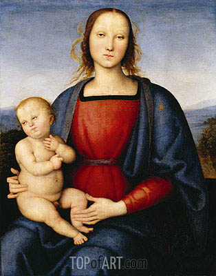 Perugino | Madonna and Child, c.1500