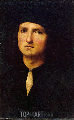 Perugino | Portrait of a Young Man, c.1500