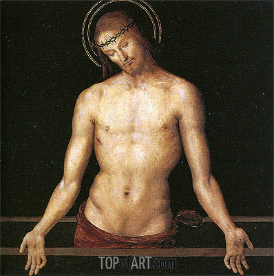 Dead Christ, 1495 | Perugino | Gemälde Reproduktion