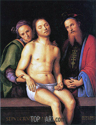 Sepulcrum Christi, 1498 | Perugino | Painting Reproduction