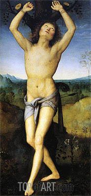 St. Sebastian, c.1489/90 | Perugino | Gemälde Reproduktion