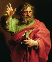 St Paul, Undated by Pompeo Batoni | Painting Reproduction