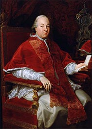 Pope Pius VI, c.1775/76 by Pompeo Batoni | Painting Reproduction
