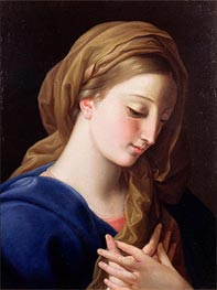 The Virgin Annunciate, Undated by Pompeo Batoni | Painting Reproduction