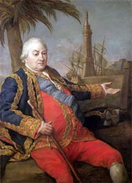 Pierre de Suffren-Saint-Tropez, Vice Admiral of France, Undated by Pompeo Batoni | Painting Reproduction
