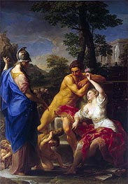 Hercules at the Crossroads, 1765 by Pompeo Batoni | Painting Reproduction