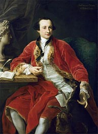 Sir Edward Dering, 6th Baronet, 1798 by Pompeo Batoni | Painting Reproduction