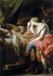 The Death of Meleager, c.1740/43 by Pompeo Batoni | Painting Reproduction