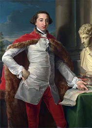 Portrait of Richard Milles, c.1760s by Pompeo Batoni | Painting Reproduction