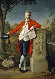 Francis Basset, I Baron of Dunstanville, 1778 by Pompeo Batoni | Painting Reproduction
