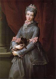 Lady Mary Fox, Baroness Holland, 1767 by Pompeo Batoni | Painting Reproduction