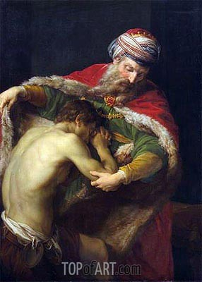 The Return of the Prodigal Son, 1773 | Pompeo Batoni | Painting Reproduction