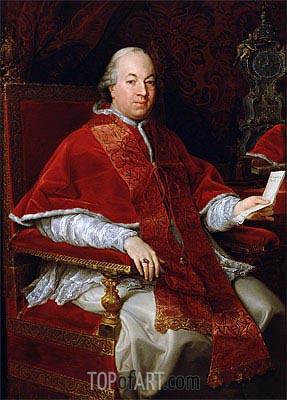 Pompeo Batoni | Pope Pius VI, c.1775/76