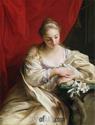 Purity of Heart, 1752 | Pompeo Batoni | Painting Reproduction