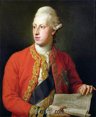Portrait of William Henry, Duke of Gloucester, 1772 | Pompeo Batoni | Painting Reproduction