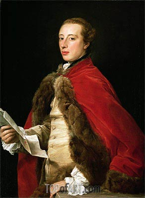 Pompeo Batoni | William Fermor, 1758