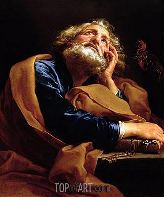 St Peter, Undated | Pompeo Batoni | Painting Reproduction