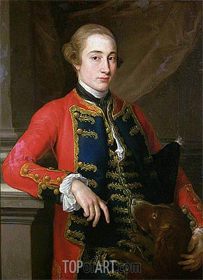 10th Earl of Pembroke,  | Pompeo Batoni | Painting Reproduction