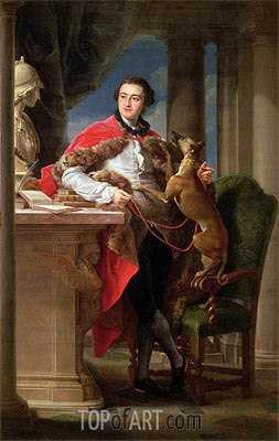 Charles Compton, 7th Earl of Northampton, 1758 | Pompeo Batoni | Painting Reproduction