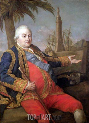 Pompeo Batoni | Pierre de Suffren-Saint-Tropez, Vice Admiral of France,