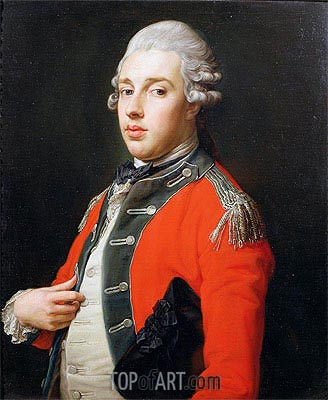 Pompeo Batoni | Portrait of George James, 1st Marquess of Cholmondeley,
