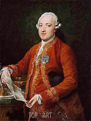 Pompeo Batoni | Don Jose Monino y Redondo, Conde de Floridablanca, c.1776