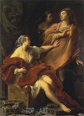 Pompeo Batoni | Allegory of Voluptuousness, 1747