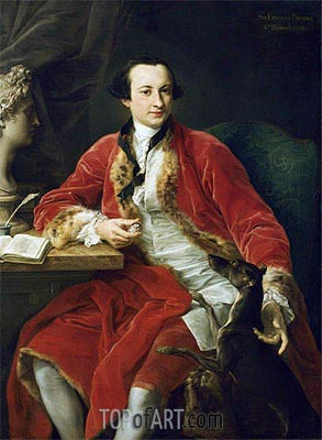 Pompeo Batoni | Sir Edward Dering, 6th Baronet, 1798