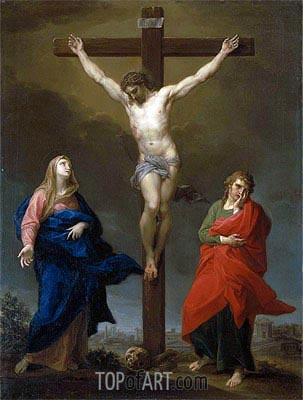 The Crucifixion, 1762 | Pompeo Batoni | Painting Reproduction